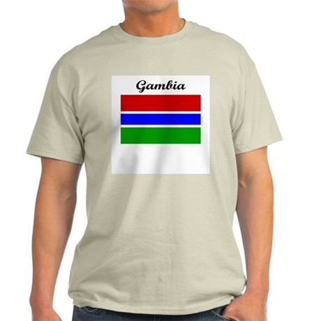 Gambian flag Light T-Shirt