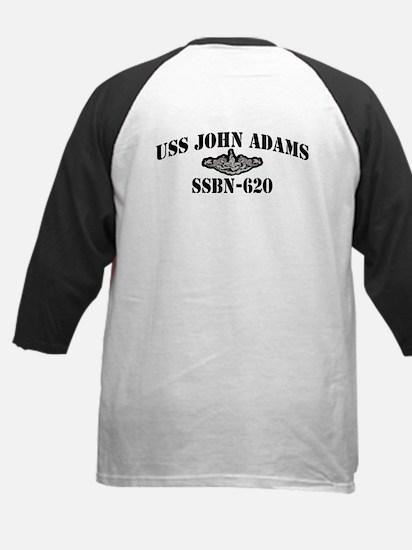USS JOHN ADAMS Kids Baseball Jersey