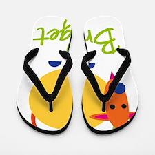 Bridget-the-goat Flip Flops