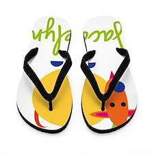 Jacquelyn-the-goat Flip Flops