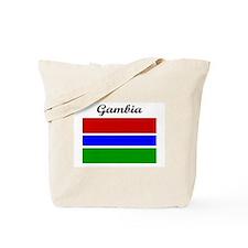 Gambian flag Tote Bag