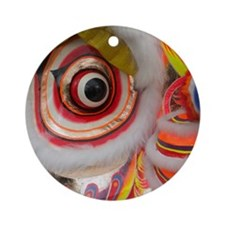 ChineseDragon Round Ornament