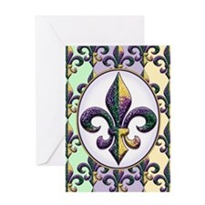 FleurMGbeadsOfPc460ip Greeting Card