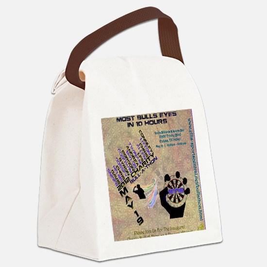 bullathonposter3 Canvas Lunch Bag