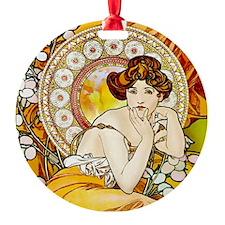 KEEPSAKE Topaz Mucha Ornament