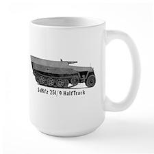 Large HalfTrack Mug