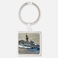 mshields ffg framed panel print Square Keychain