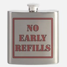 No-Early-Refills Flask