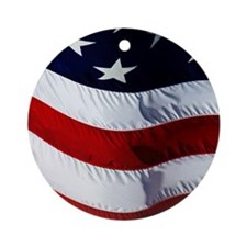 americanMP Round Ornament