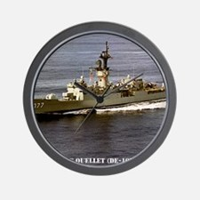 ouellet de framed  panel print Wall Clock