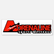 adrenaline_sports_long Sticker (Bumper)