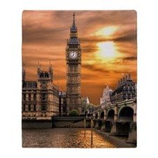 Houses of Parliament Throw Blanket