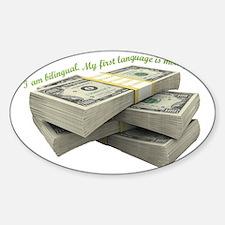 I love money Decal