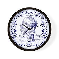 Petter tile Wall Clock