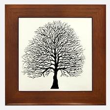 Oak tree Framed Tile