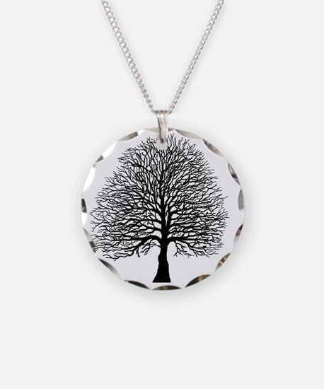 Oak tree Necklace
