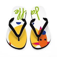 Janelle-the-goat Flip Flops