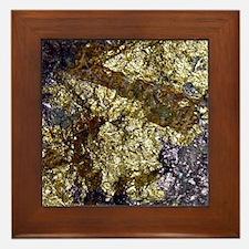 Purple-Gold-Bornite-iPad Framed Tile