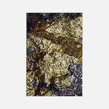 Purple-Gold-Bornite-iPad Rectangle Magnet
