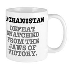 AFGHANISTAN - DEFEAT SNATCHED FROM.... Mug
