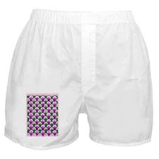 Purple-Green-Arch-iPad 2-Case Boxer Shorts
