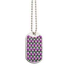 Purple-Green-Arch-iPhone 3-Case Dog Tags