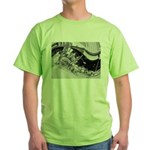 French Market, 1900 Green T-Shirt