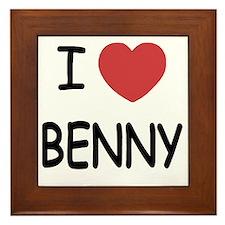 BENNY Framed Tile