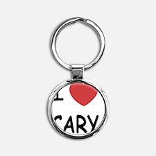 CARY Round Keychain