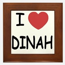 DINAH Framed Tile