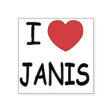 "JANIS Square Sticker 3"" x 3"""