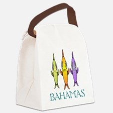 Bahamas 3-fishes Canvas Lunch Bag