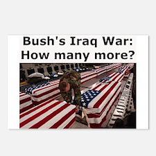 8 Bush's Iraq War Post Cards
