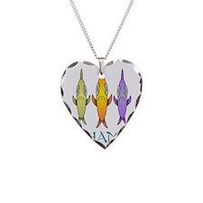 Bahamas 3-fishes Necklace