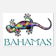 Bahamas Gekco Postcards (Package of 8)