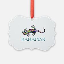 Bahamas Gekco Ornament