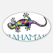 Bahamas Gekco Decal
