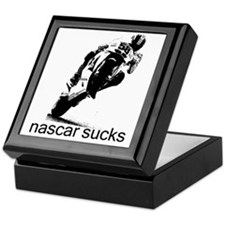 58_wht_nascar Keepsake Box