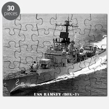 ramsey de framed panel print Puzzle