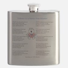NPpoemfe10x10 Flask