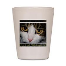 cat whisperer2 Shot Glass