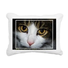 cat whisperer2 Rectangular Canvas Pillow