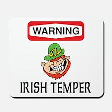 Irish Temper Mousepad