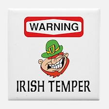 Irish Temper Tile Coaster