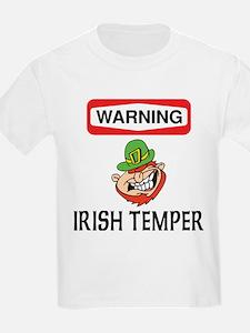 Irish Temper Kids T-Shirt