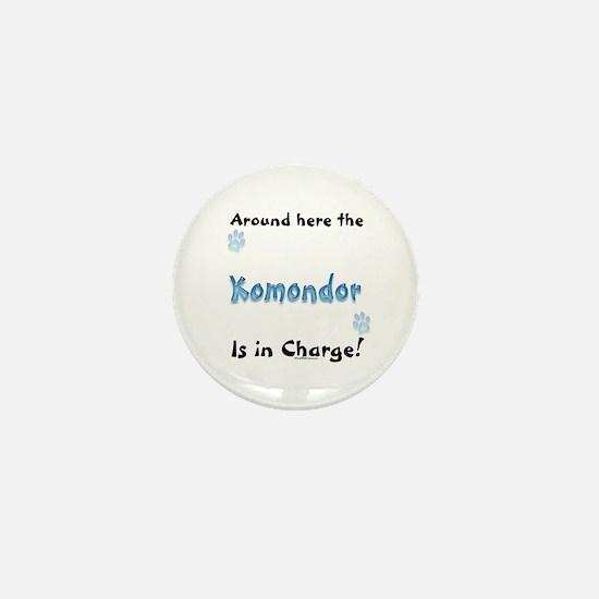 Komondor Charge Mini Button