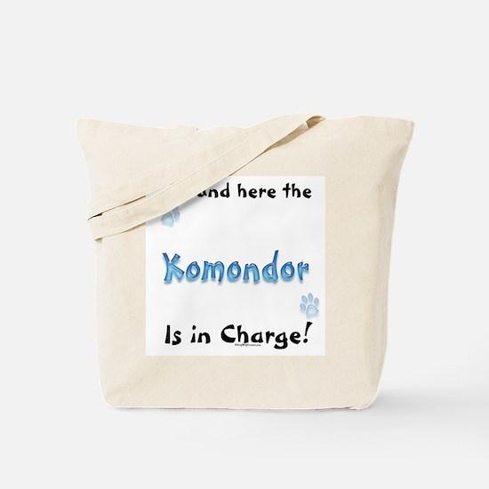 Komondor Charge Tote Bag