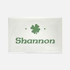 """Shamrock - Shannon"" Rectangle Magnet"