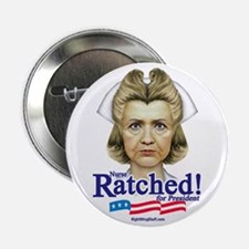 "Nurse Hillary Ratched 2.25"" Button (10 pack)"