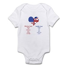 British American Translations Onesie